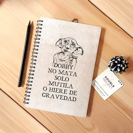 Libreta Espiral Dobby no mata | Double Project