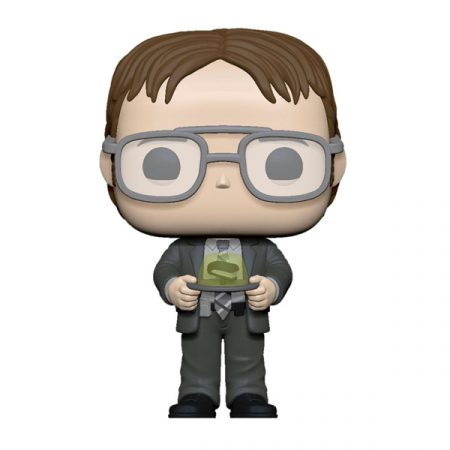 The Office Funko POP Dwight with Jello Stapler | Double Project