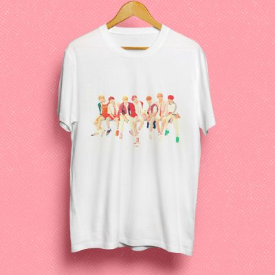 Camiseta BTS grupo | Double Project