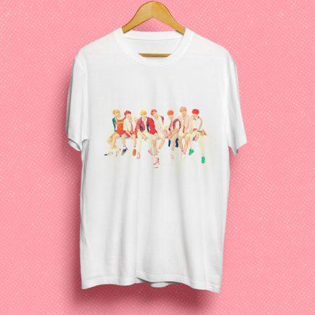 Camiseta BTS grupo | Double Project