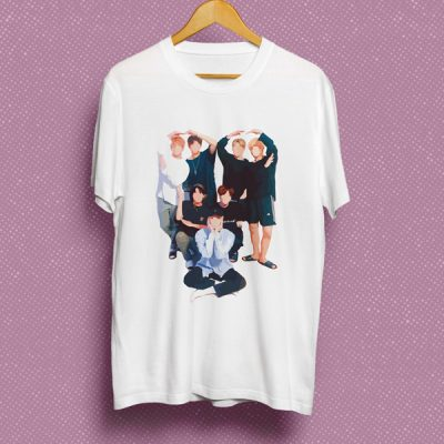Camiseta BTS group | Double Project
