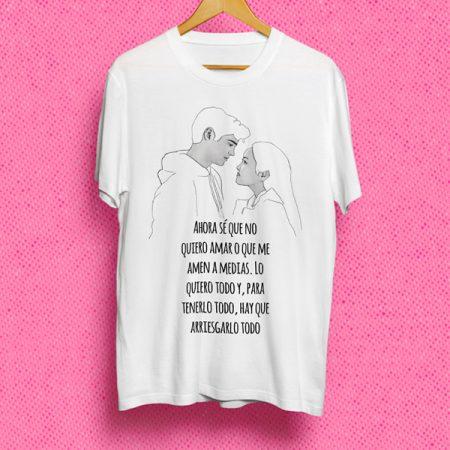 Camiseta Ahora se que no quiero que me amen a medias | Double Project