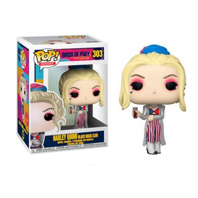 DC Birds Of Prey Funko POP Harley Quinn (BLACK MASK CLUB) | Double Project