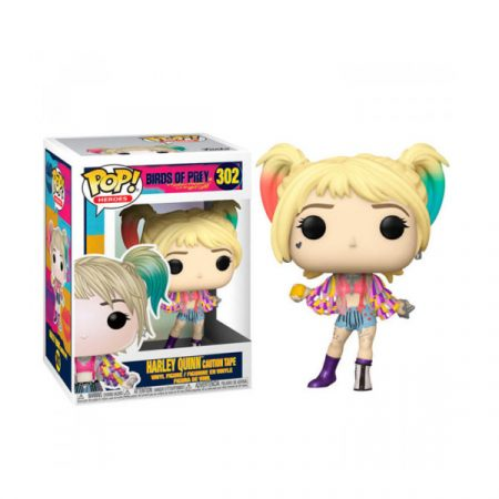 DC Birds Of Prey Funko POP Harley Quinn (CAUTION TAPE) | Double Project