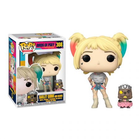 DC Birds Of Prey Funko POP Harley Quinn WITH BEAVER | Double Project