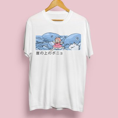 Camiseta Ponyo la niña pez | Double Project