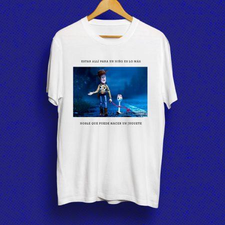 Camiseta Estar allí para un niño | Double Project