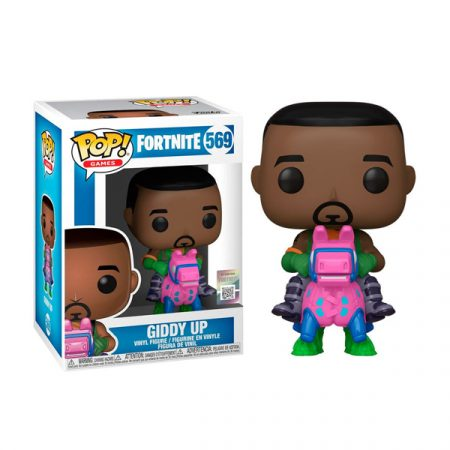 Fortnite Funko POP Giddy Up | Double Project