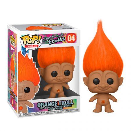 Good Luck Trolls Funko POP Orange Troll | Double Project