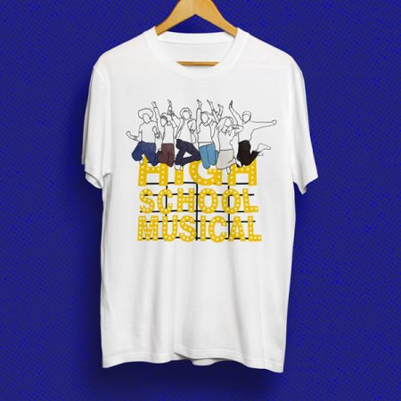 Camiseta High School Musical   Double Project
