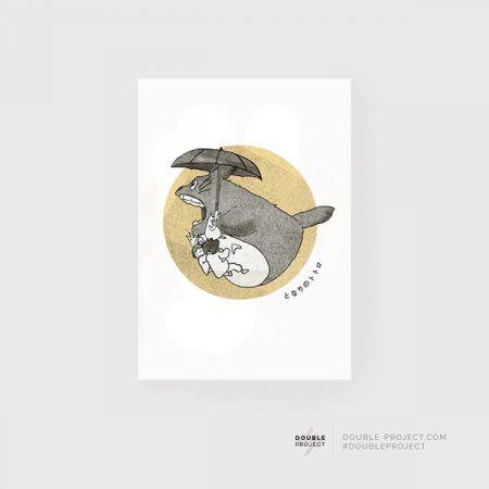 Lámina Totoro paraguas | Double Project
