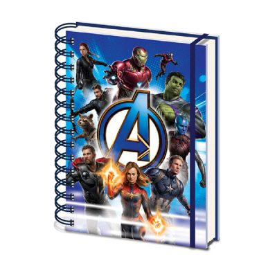 Marvel Libreta espiral Avengers Endgame | Double Project