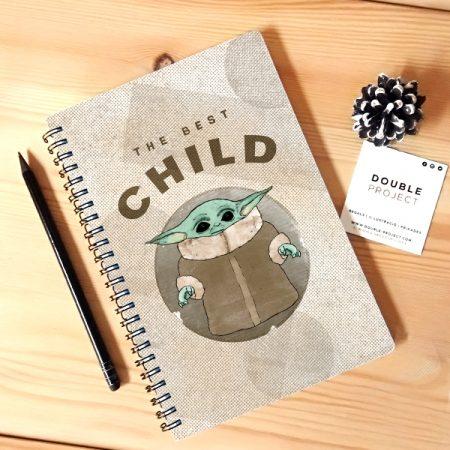 Libreta espiral The best Child | Double Project