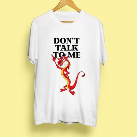 Camiseta Don't talk to me | Double Project