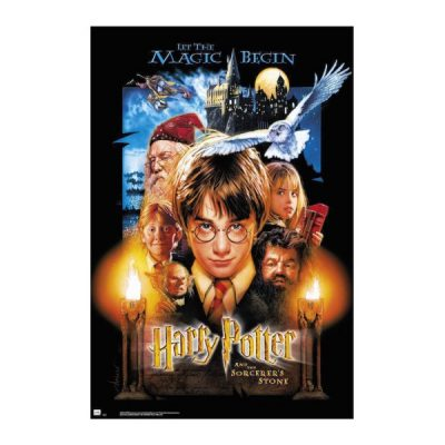 Harry Potter Póster HARRY POTTER AND THE SORCERERS STONE | Double Project