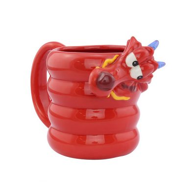 Disney Mulan Taza 3d Mushu | Double Project