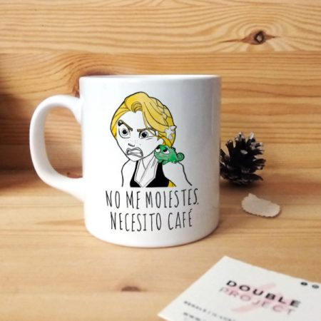 Taza No me molestes Rapunzel | Double Project