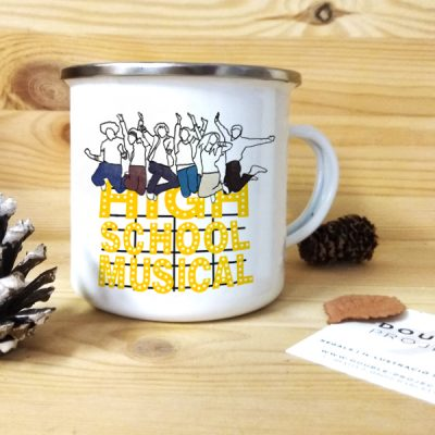 Taza vintage metálica High School Musical | Double Project