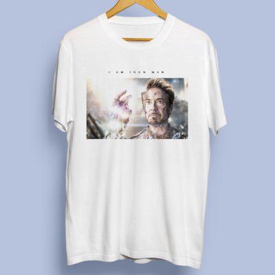 Camiseta I am Iron Man   Double Project