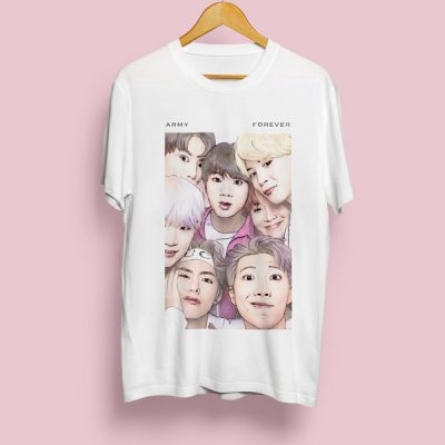 Camiseta BTS Army Forever | Double Project