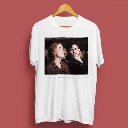 Camiseta Why does he look at me like that | Double Project
