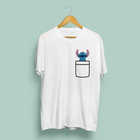 Camiseta Bolsillo Stitch | Double Project