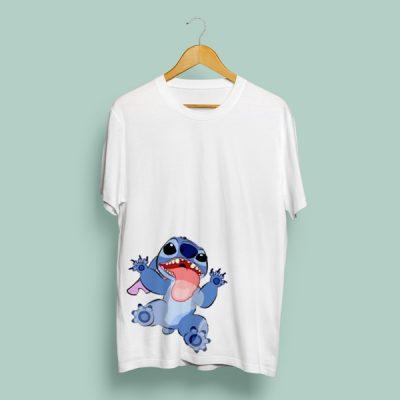 Camiseta Stitch lamiendo | Double Project