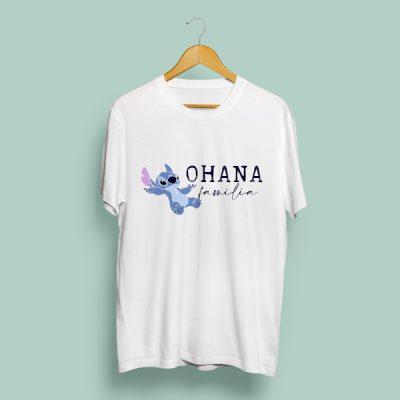 Camiseta Ohana Familia | Double Project
