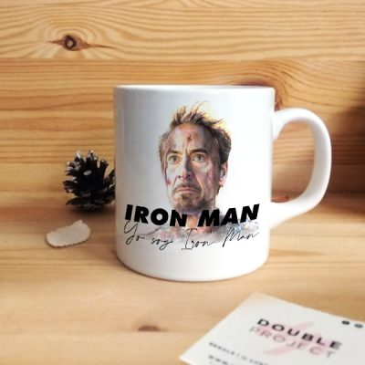 Taza Yo soy Iron Man | Double Project