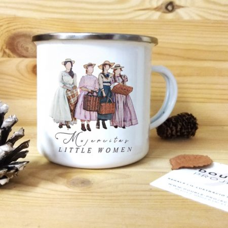 Taza vintage metálica Little Women | Double Project