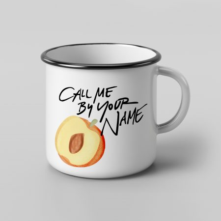 taza vintage cerámica Melocotón Call me by your name | Double Project