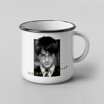 Taza vintage cerámica The Boy Who lived | Double Project