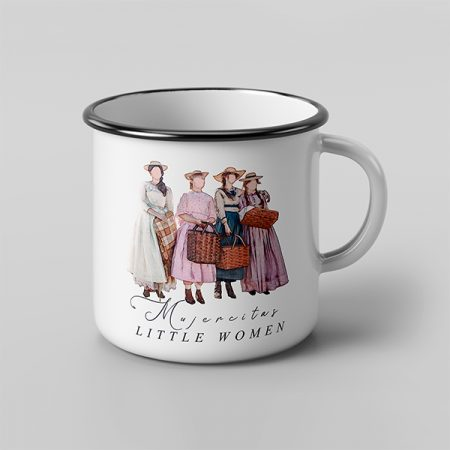Taza vintage cerámica little Women | Double Project
