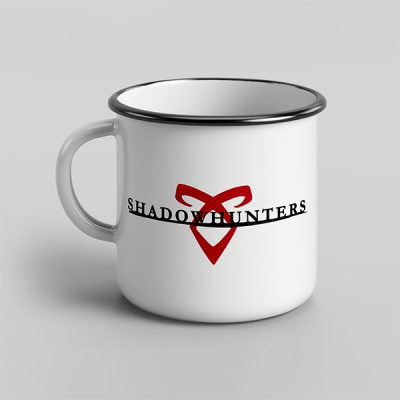 taza vintage cerámica Shadowhunters | Double Project