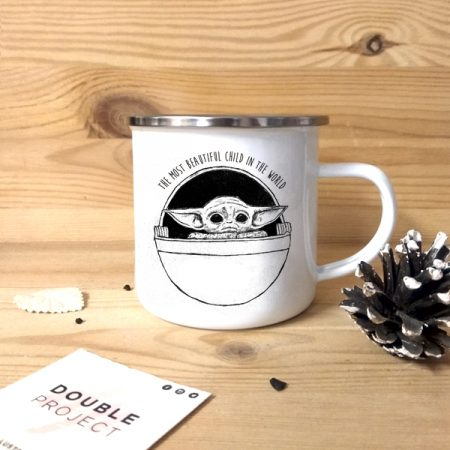 Taza vintage The most beautiful child in the world | Double Project