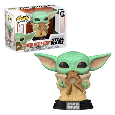 Star Wars The Mandalorian Funko POP The Child with Frog