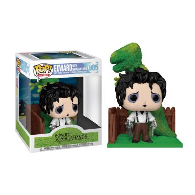 Edward Scissorhands Funko POP Edward and Dino Hedge | Double Project