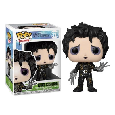Edward Scissorhands Funko POP Pack Edward Scissorhands