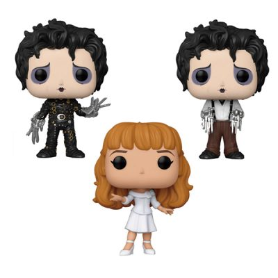 Edward Scissorhands Funko POP Pack Edward Scissorhands, Kim & Edward Dress Clothes | Double Project