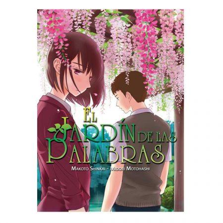 Manga El Jardín de las palabras | Double Project