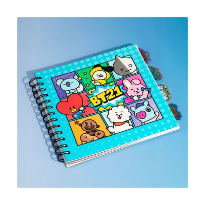BT21 Cuaderno marcapáginas BT21 | Double Project