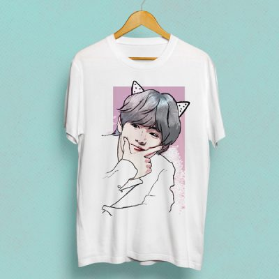 Camiseta Tae cute | Double Project