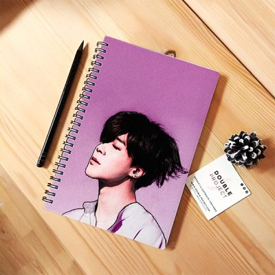 Libreta espiral Jimin | Double Project