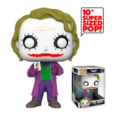 DC The Dark Knight Funko POP Super Sized The Joker | Double Project