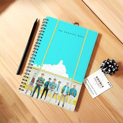 Libreta espiral Bangtan Boys | Double Project