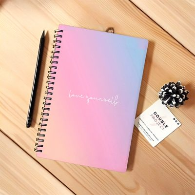 Libreta espiral Love yourself | Double Project