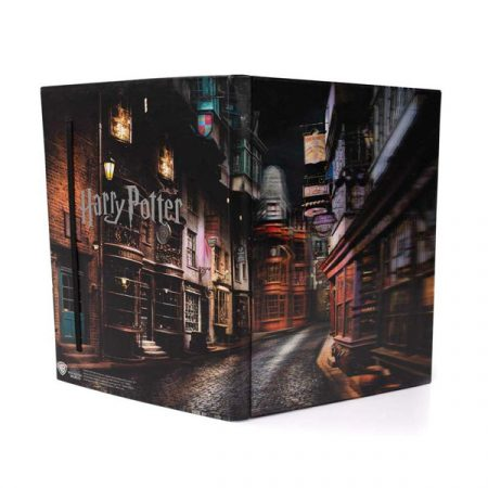 Harry Potter Libreta lenticular Callejón Diagon | Double Project