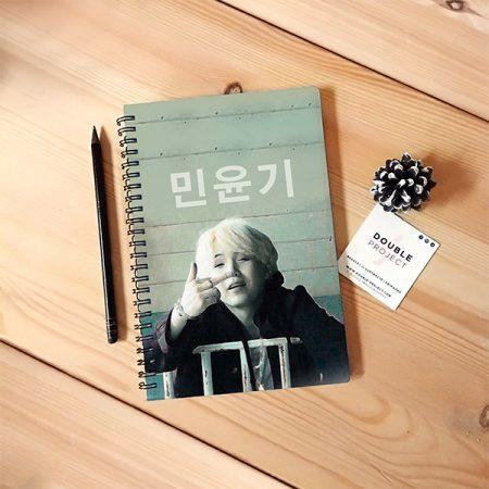 Libreta espiral 민윤기 | Double Project