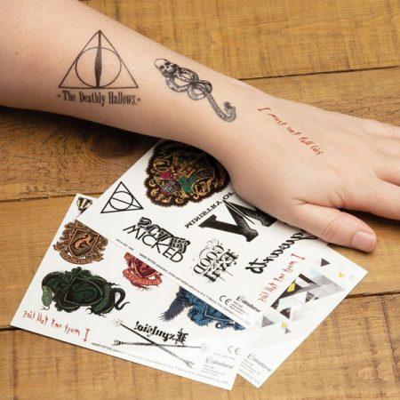Harry Potter Set tatuajes temporales | Double Project