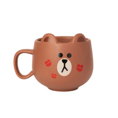 Line Friends Taza Brown | Double Project